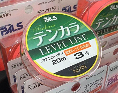 Nissin ONI Ryu Orange Tenkara Level Line (3)