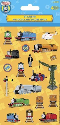 Thomas The Tank Engine Stickers (Thomas the Tank Standard Stickers - 4 Sheet)