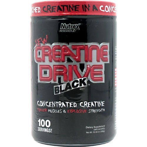 Nutrex Creatine Drive Black Unflavored 60 Servings - 10.58 O
