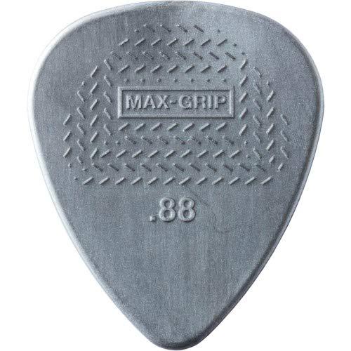 (Jim Dunlop Nylon Max Grip Guitar Picks - 12-Pack 0.88 mm)