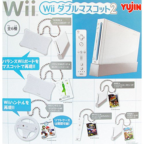 (Wii Double Mascot 2 Swinger: Mario Kart & Wii Wheel)