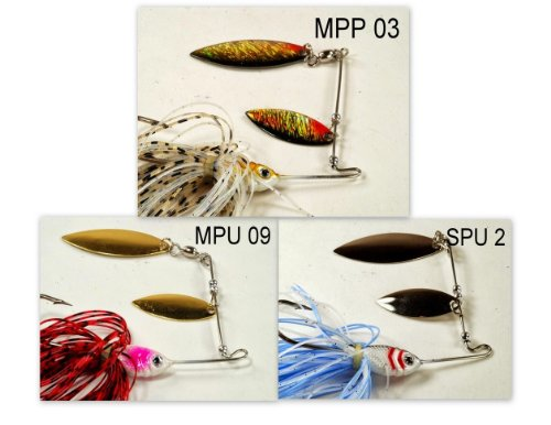 Akuna [SC] Pros' pick recommendation collection of lures for Bass, Panfish, Trout, Pike and Walleye fishing in South Carolina(Bass 3-B) (Best Bass Fishing In South Carolina)