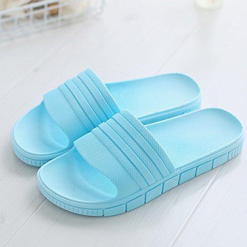 di fresco Pantofole balneare maschio e 42 home non slip bagno fankou indoor una con antiscivolo scarpe spiaggia estate blu vasca coppie soggiorno una elegante da 8wd1xZq