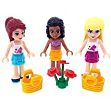 LEGO Pack of 3 Friends Figures Minifigures with Accessories