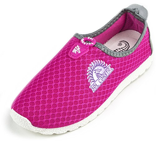 Pink Women's Shore Runner Water Shoes, Size 6