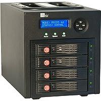 CRU RTX RTX430-3QR DAS Array 4 x Total Bays - USB 3.0, eSATA, FireWire/i.LINK 800 / 3546031300100 /