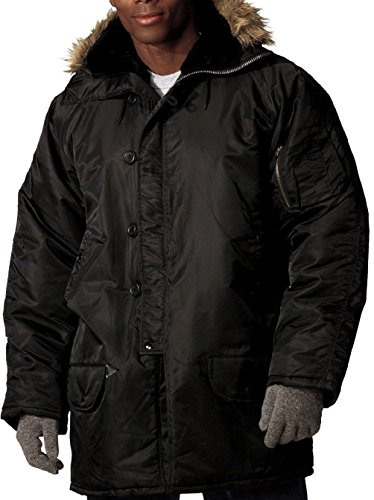 Bellawjace Clothing Cold Weather Military Style Flight Jacket Snorkel Parka Flight Coat