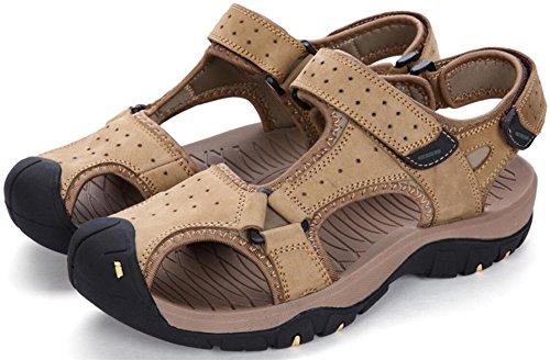 Mens Athletic Sandal Outdoor Sport Sandal Khaki lU45W5K