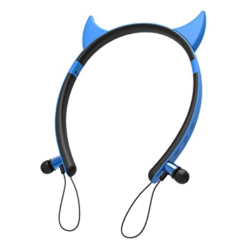 Laduup - Auriculares de Diadema para Cosplay, con micrófono ...