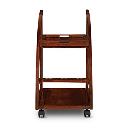 HomeTown Acer Serving Trolley (Rich Brown)
