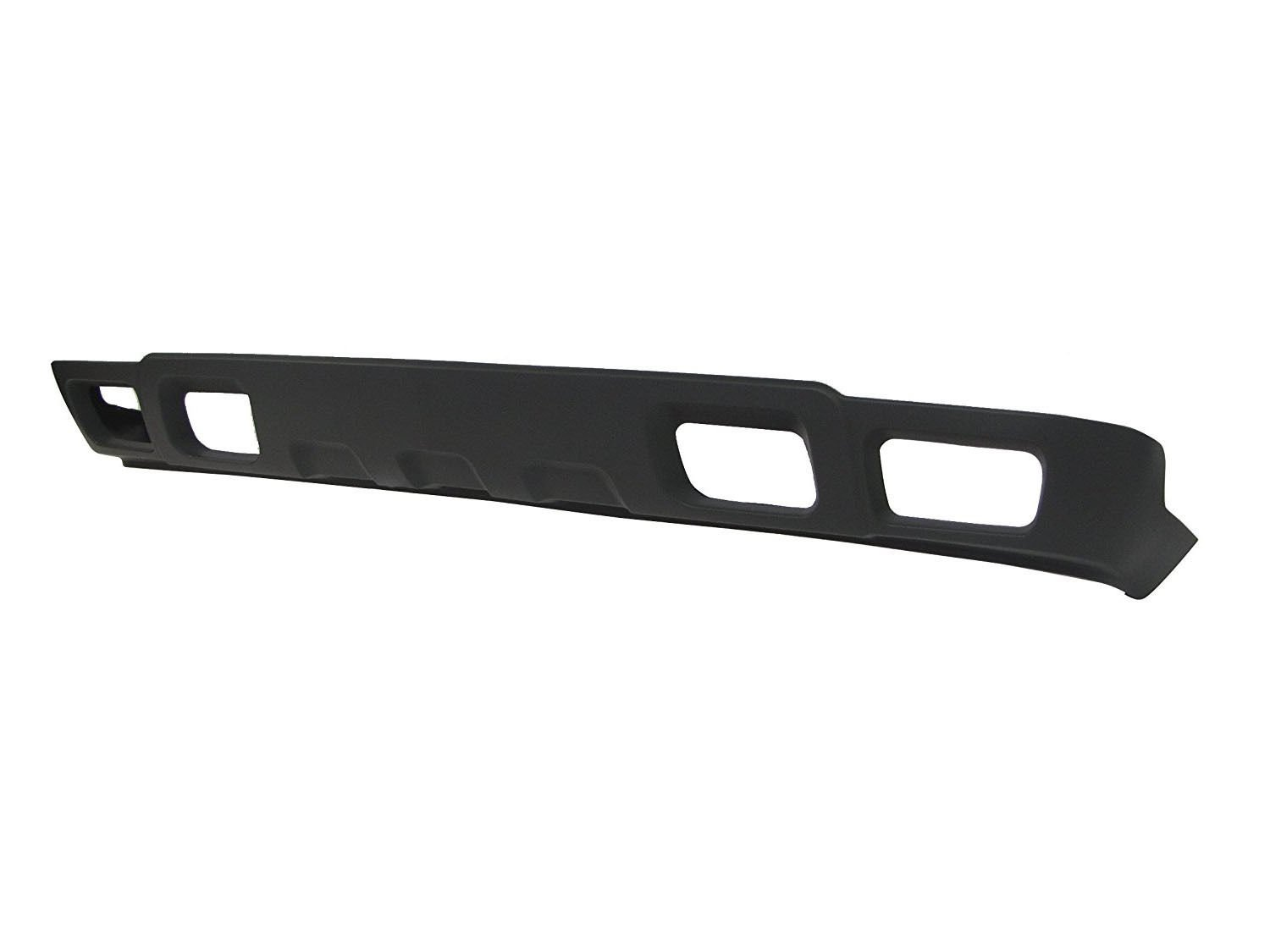GM1092173 Textured Gray Lower Front Bumper Air Deflector for 2003-2006 Chevrolet Silverado /& Avalanche 03-06 MBI AUTO