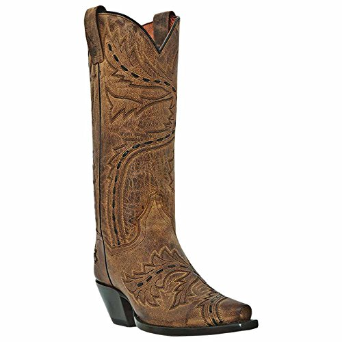 Dan Post Women's Sidewinder Western Boot,Tan,8 M US