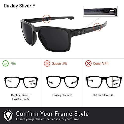 Revant Replacement Lenses for Oakley Sliver F