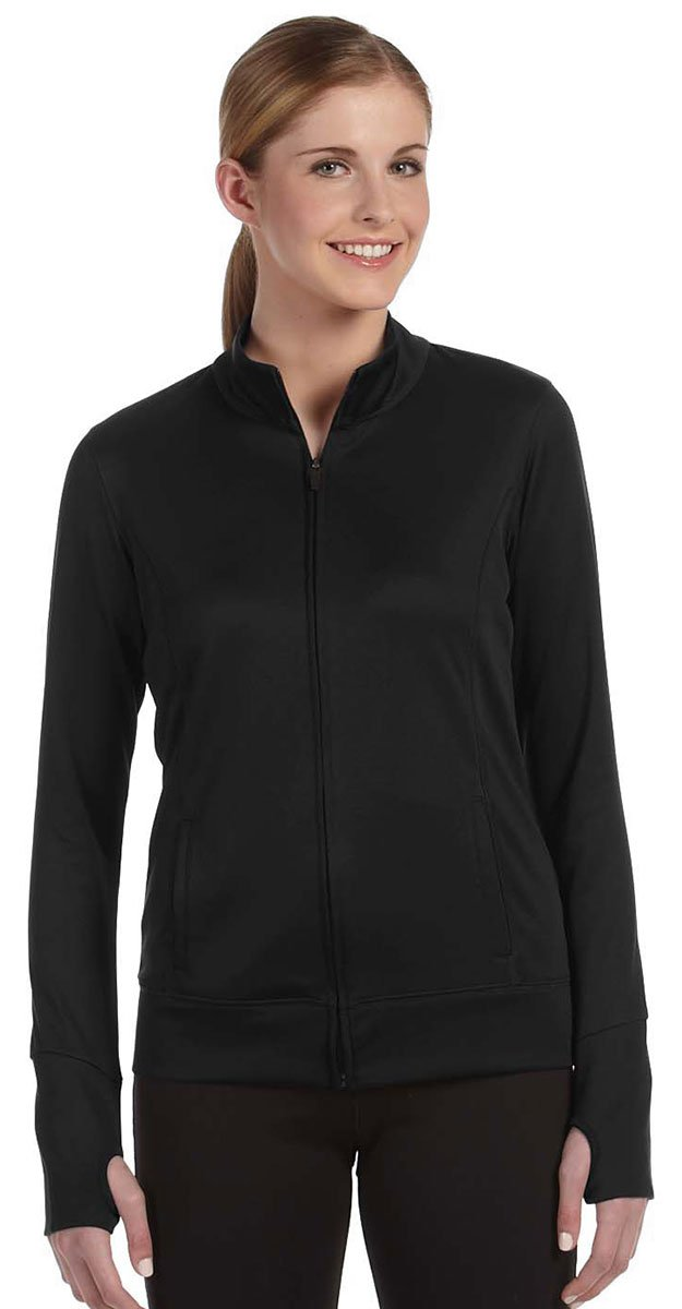 ALO Sport All Sport Ladies Lightweight Jacket, Large, Black