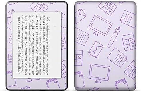 igsticker kindle paperwhite 第4世代 専用スキンシール キンドル ペーパーホワイト タブレット 電子書籍 裏表2枚セット カバー 保護 フィルム ステッカー 050750