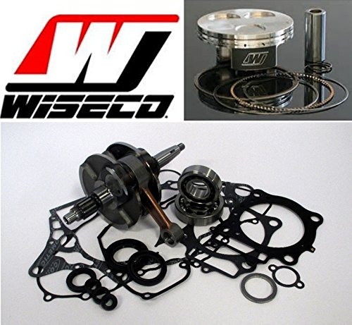 Wiseco Crankshaft Piston (Crankshaft Complete Bottom End Kit with Wiseco Piston 95mm 11.4:1 Piston for Yamaha YFZ 450 2004-2009 (carburetor models))