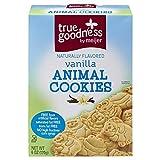 True Goodness Vanilla Animal Cookies, 6 oz