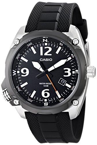 Casio MTF E001 1AVCF Classic Black Quartz