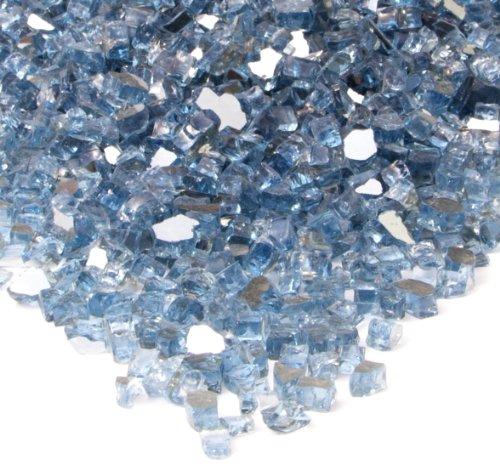 Real Flame Fire Glass Filler Blue 10001-BLG