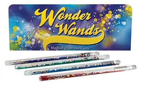(Toysmith Magic Wand -Glitter Stars)