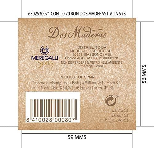 Dos Maderas añejo 5 + 3 Rum (1 x 0,7 l)