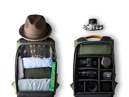VINTA VINTA | S-Series - (Forest) Travel & Camera Bag/Backpack