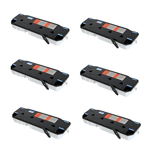 6 Pack Compatible Brand - New Waste Toner Container For Canon imageRUNNER ADVANCE C355iF C350P C350iF C255iF C250iF imageCLASS MF820Cdn MF810Cdn FM0-0015-010 9549B002AA WT-201 WT-A3 FM0-0015-000