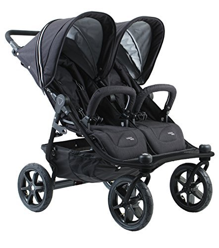 Valco Baby Tri Mode Duo X All Terrain Double Stroller (Night)