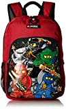 LEGO Kids Ninjago Team Heritage Classic Backpack, Red, One Size