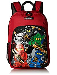 Lego Kids' Ninjago Team Heritage Classic Backpack, Red, One Size