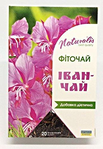 100% Natural Ivan Tea (Epilobium herb) in Tea Bags (Best Way To Treat Gastritis)