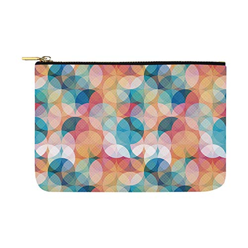 Amazon.com: Geometric Fashion womens canvas coin purse,For ...