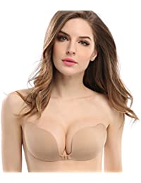 d84dea1dc7 Invisible Bras Self Adhesive Bra Silicone Bra Push up Strapless Bra