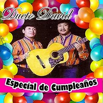 Feliz Cumpleaños de DUETO DAVID en Amazon Music - Amazon.es