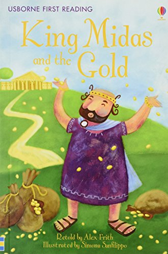 King Midas & the Gold (First Reading Level 1)