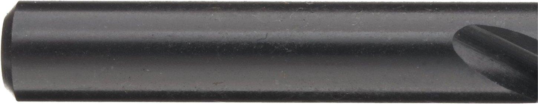 Black Oxide Finish 118 Degree Conventional Point Chicago Latrobe 239 High-Speed Steel Reduced Shank Drill Bit 1//4 Size Round Shank