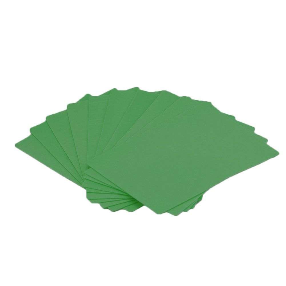 EVA Foam Paper Sheet (50 pcs)-8x12 Inch-2mm Thick A4 Size for Children's Craft Activities DIY Cutters Art-21x30cm (Green) by FLOAT ISLAND (Image #1)