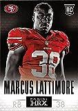 Marcus Lattimore football card (49ers, South Carolina) 2013 Panini HRX #11