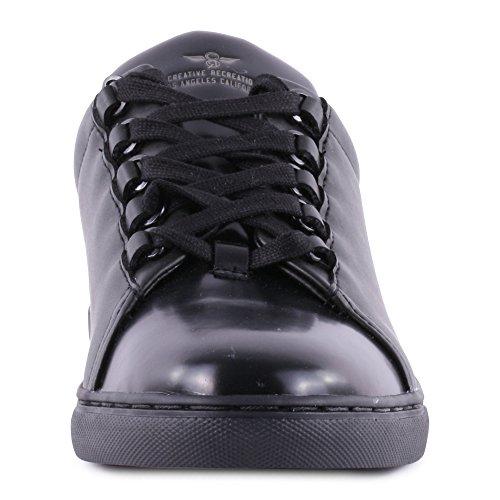 Sneaker Slip-on Creativo Ricreazione Mens Turino Nero / Metallico