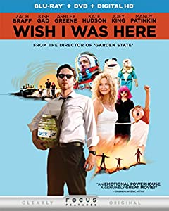 Cover Image for 'Wish I Was Here (Blu-ray + DVD + DIGITAL HD)'