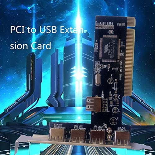 USB2.0 Expansion Card Pci To Usb Expansion Card Usb Expansion Card New Free Drive 5 Black/&Rose Gold