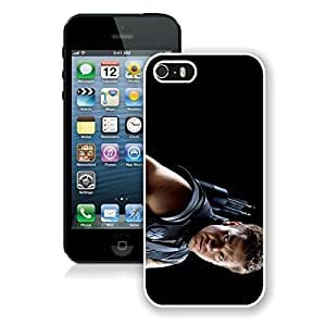 Beautiful Designed Case With The Avengers Jeremy Renne Clint Barton Hawkeye White For iPhone 5S Phone Case