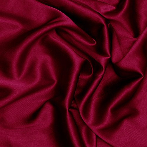 Silk Stretch Charmeuse 271 Rouge Fabric