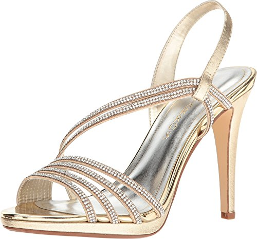 Caparros Womens Gazelle Open Teen Slingback D-orsay Pumps Goud Metallic
