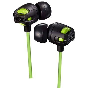 JVC hafx103mg Xtreme Xplosives In-Ear-Kopfhörer mit Mikrofon und Fernbedienung, grün