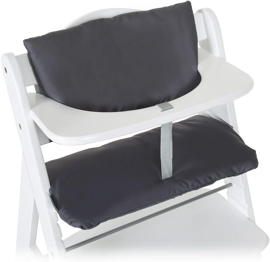 Fixation et Nettoyage Facile Multicolor Beige Hauck Highchair Pad Deluxe Coussin Chaise Haute pour Hauck Alpha+ et Beta+ Coussin pour Assise et Dossier