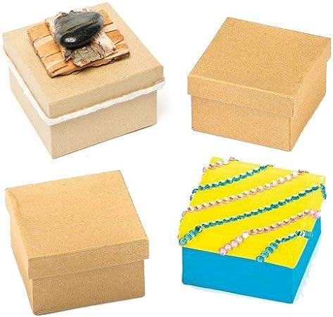 Baker Ross Cajas Para Decorar (paquete de 6) para que los niños ...