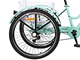Barbella Women Adult Mountain Tricycle, 7 Speed