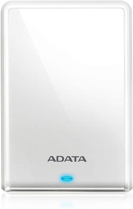 ADATA Technology HV620S 外付けハードドライブ 2TB ホワイト AHV620S-2TU3-CWH