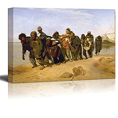 Barge Haulers on The Volga by Ilya Repin 16